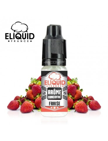 Fraise 10ml - E-LIQUID FRANCE